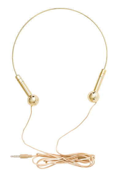 On-ear headphones - Gold - Ladies | H&M CA